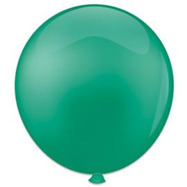 Topballon ''Jadegroen'' (Ø91cm, Per stuk)