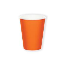 Bekertjes sunkissed orange (266ml, 8 stuks)