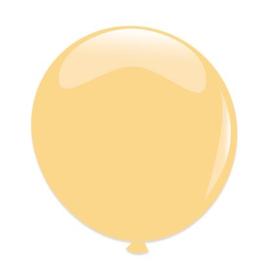 Topballon ''Transparant'' (Ø61cm, Per stuk)