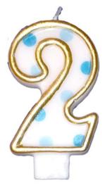"Cijferkaars Blauw ""2"""