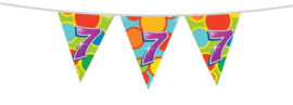 Vlaggenlijn ''7 jaar'' (10 meter)