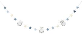 Figurenslinger ''Nijntje baby Blauw'' '(3 meter)
