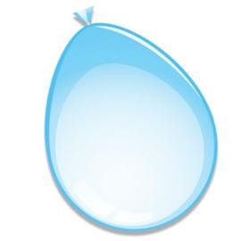 Ballonnen ''Mat Baby blauw''