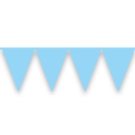 Vlaggenlijn babyblauw (10meter)