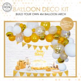 Ballon deco kit ''Goud''