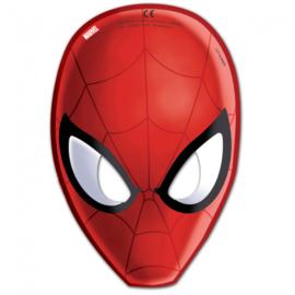 Maskers ''Spiderman'' (6 stuks)