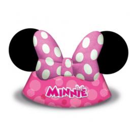 Hoedjes ''Minnie Mouse'' (6 stuks)