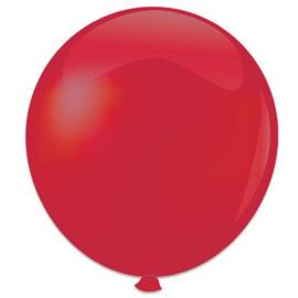 Topballon ''Rood'' (Ø91cm, Per stuk)