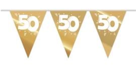 Vlaggenlijn ''50 jaar goud'' '(10 meter)