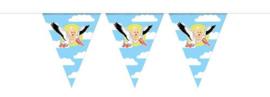 Vlaggenlijn ''Geboorte zoon'' (10 meter)