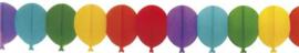 Crépeslinger ''Ballon gekleurd'' (6 meter)