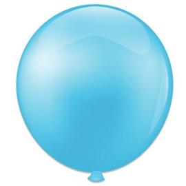 Topballon ''Babyblauw'' (Ø91cm, Per stuk)