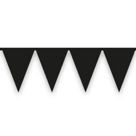Vlaggenlijn zwart (10meter)