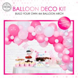 Ballon deco kit ''Roze''