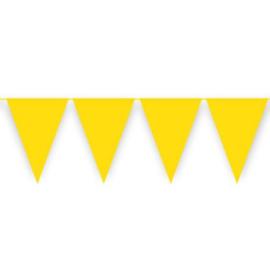 Vlaggenlijn geel (10meter)