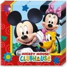 Servetten ''Mickey mouse'' (20 stuks)