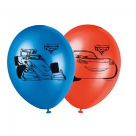 Ballonnen ''Cars'' (30cm, 8 stuks)