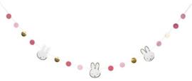 Figurenslinger ''Nijntje baby Roze'' (3 meter)