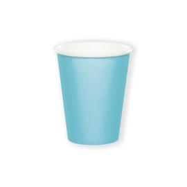 Bekertjes pastel blue (266ml, 8 stuks)