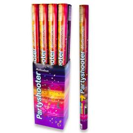 Confetti poppers ''Multicolor'' (80 cm, Per stuk)