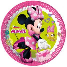 Borden ''Minnie Mouse'' (8 stuks)