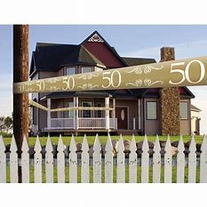 Afzetlint ''50 jaar getrouwd''