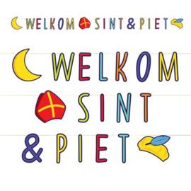 "Letterslinger ""Welkom Sint & Piet"""