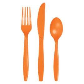 Bestek sunkissed orange (18 stuks)