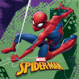 Servetten ''Spiderman'' (20 stuks)