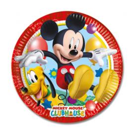 Borden ''Mickey mouse'' (Klein, 8 stuks)