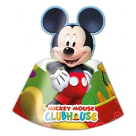 Hoedjes ''Mickey mouse'' (6 stuks)