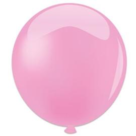 Topballon ''Roze'' (Ø91cm, Per stuk)