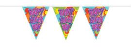 Vlaggenlijn ''Happy birthday'' (10 meter)