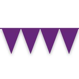 Vlaggenlijn paars (10meter)