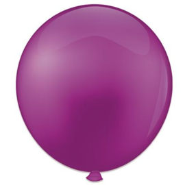 Topballon ''violet'' (Ø91cm, Per stuk)