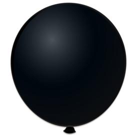 Topballon ''Zwart'' (Ø91cm, Per stuk)
