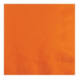 Servetten sun. orange (33x33cm, 20 stuks)