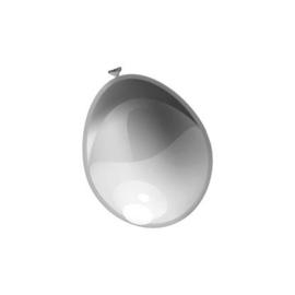 Ballonnen ''Mat Zilver'' (10 stuks)