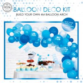 Ballon deco kit ''Blauw''