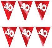 Vlaggenlijn ''40 jaar getrouwd'' (10 meter)