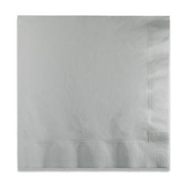 Servetten shim. silver (33x33cm, 20 stuks)