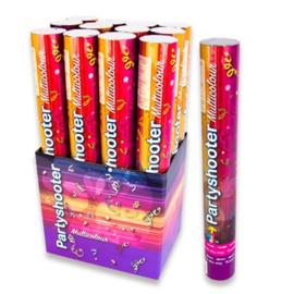 Confetti poppers ''Multicolor'' (40 cm, Per stuk)