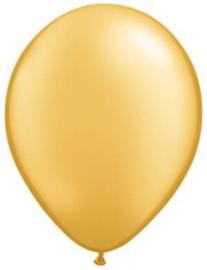 Ballonnen ''Metallic Goud''