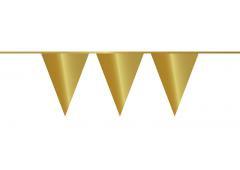 Vlaggenlijn goud (10meter)