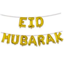 Folieballonnen ''Eid Mubarak''