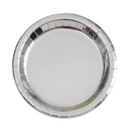 Borden ''Zilver'' (Klein, 10 stuks)
