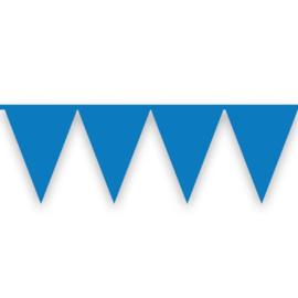 Vlaggenlijn blauw (10meter)