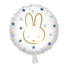 Folieballon ''Nijntje Blauw'' (45cm)