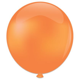 Topballon ''Oranje'' (Ø91cm, Per stuk)