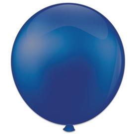 Topballon ''Koningsblauw'' (Ø91cm, Per stuk)